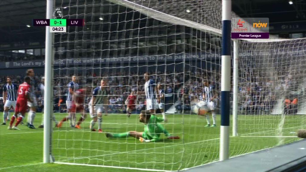 英超 西布朗2:2利物浦