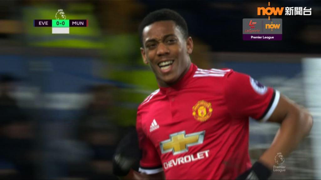 英超 愛華頓 0:2 曼聯