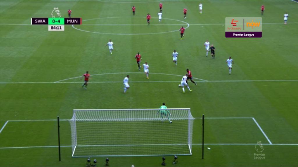 英超 史雲斯0:4曼聯