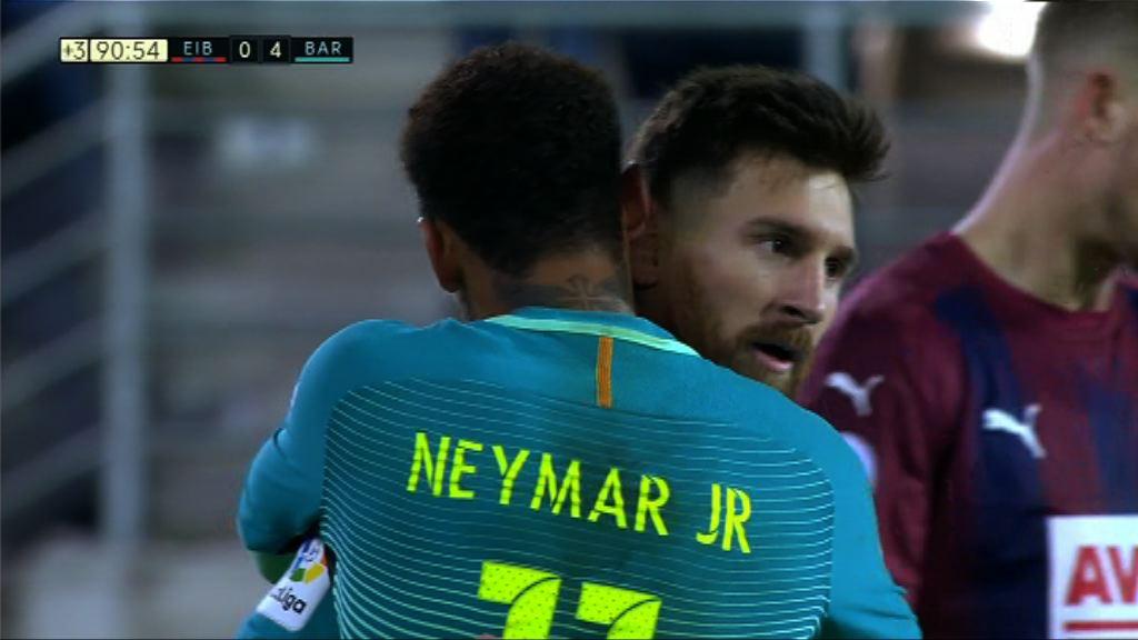 西甲 艾爾巴 0:4 巴塞羅那