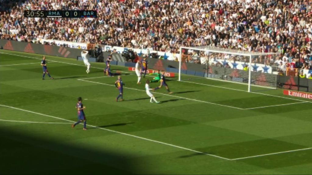 西甲 皇家馬德里 0:3 巴塞羅那