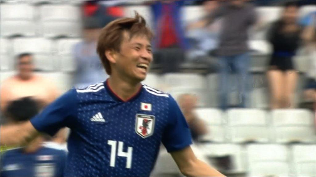 友誼賽 日本 4:2 巴拉圭