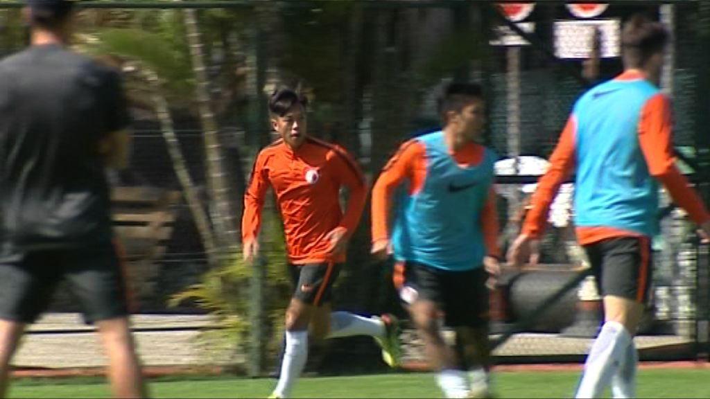 港隊備戰對北韓爭亞洲盃出線