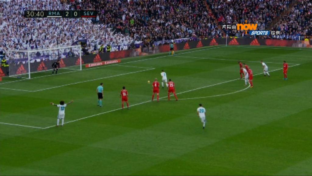 西甲 皇家馬德里5:0西維爾