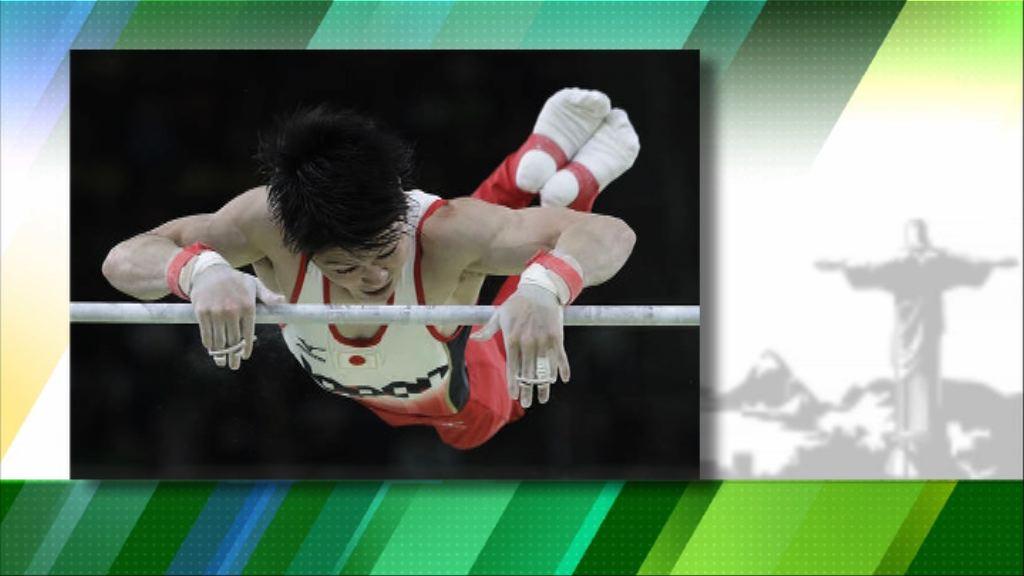內村航平奧運體操全能賽成功蟬聯