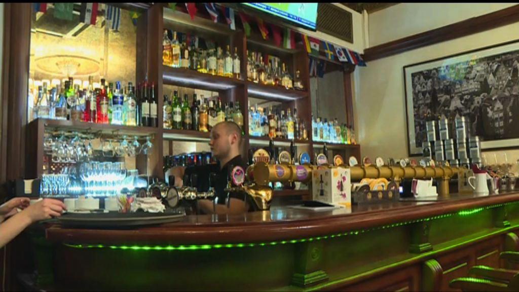 莫斯科酒吧負責人稱未曾聽聞禁酒令