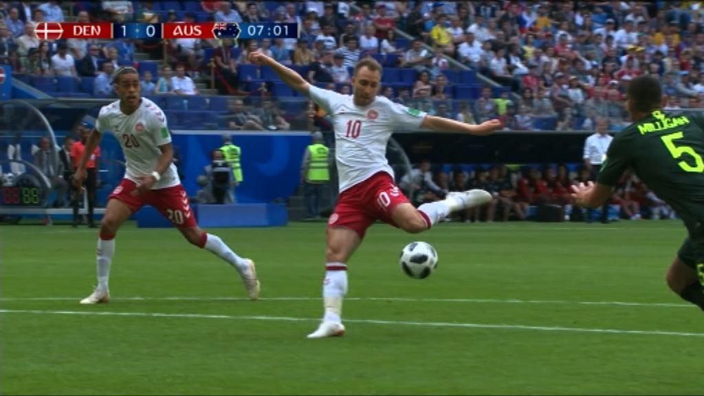 世界盃C組 丹麥 1:1 澳洲