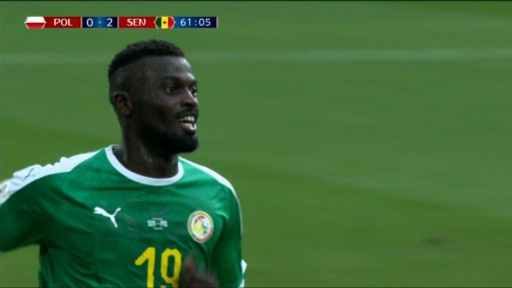 世界盃H組 波蘭 1:2 塞內加爾