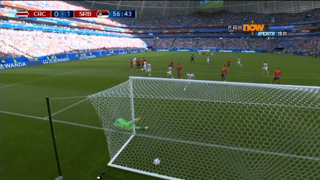 世界盃E組 哥斯達黎加 0:1 塞爾維亞