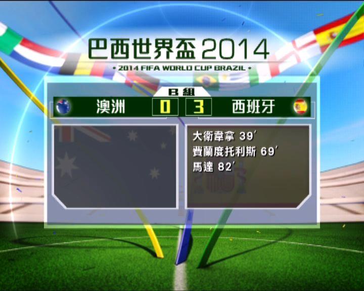 西班牙以一勝兩敗結束世界盃