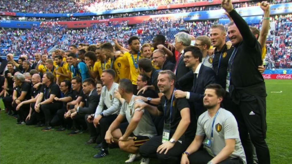世界盃季軍戰 比利時 2:0 英格蘭