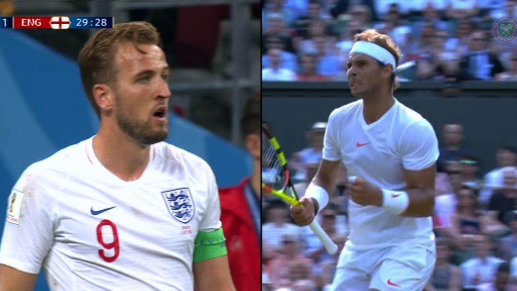 世界盃與溫網男單決賽撞期令球迷頭痛