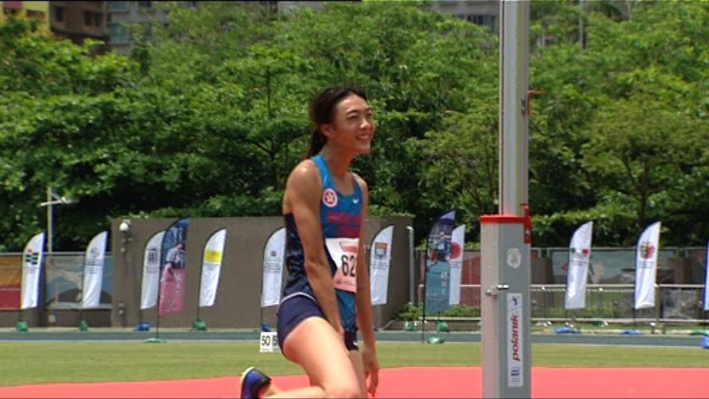 城市田徑錦標賽 楊文蔚跳出1米83