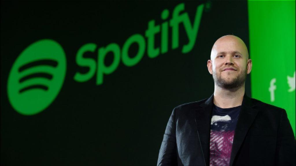 音樂串流平台Spotify下月紐約掛牌上市