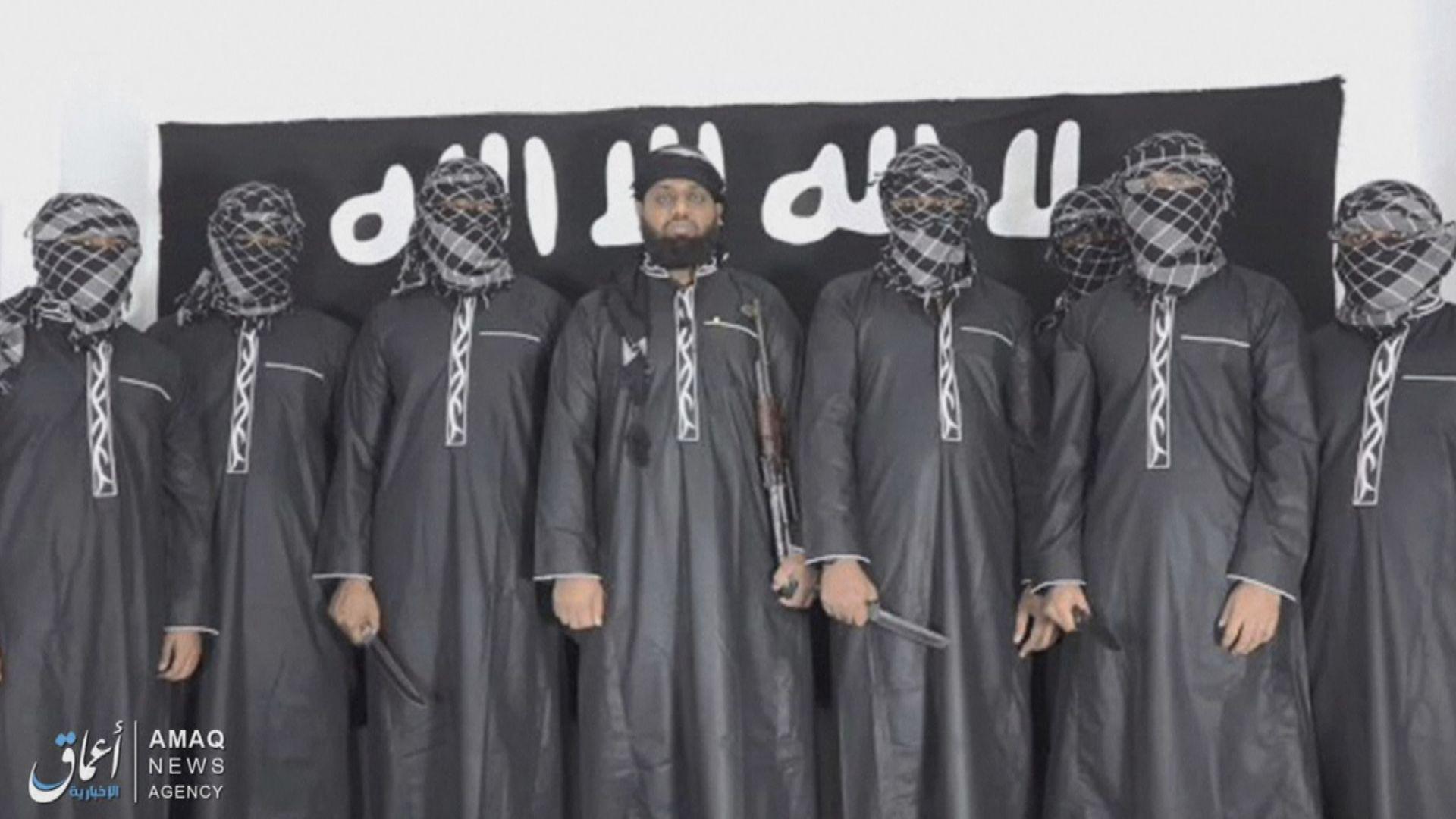 斯里蘭卡恐襲 伊斯蘭國發放聲稱施襲者照片