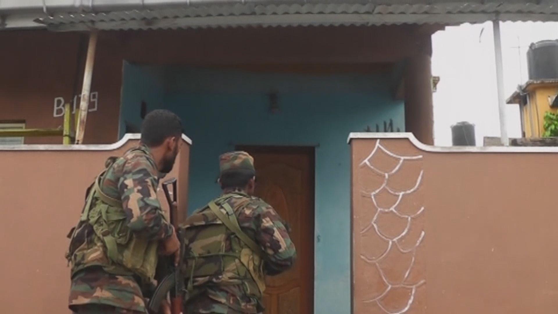 伊斯蘭國宣稱與斯里蘭卡警方駁火致多人死傷