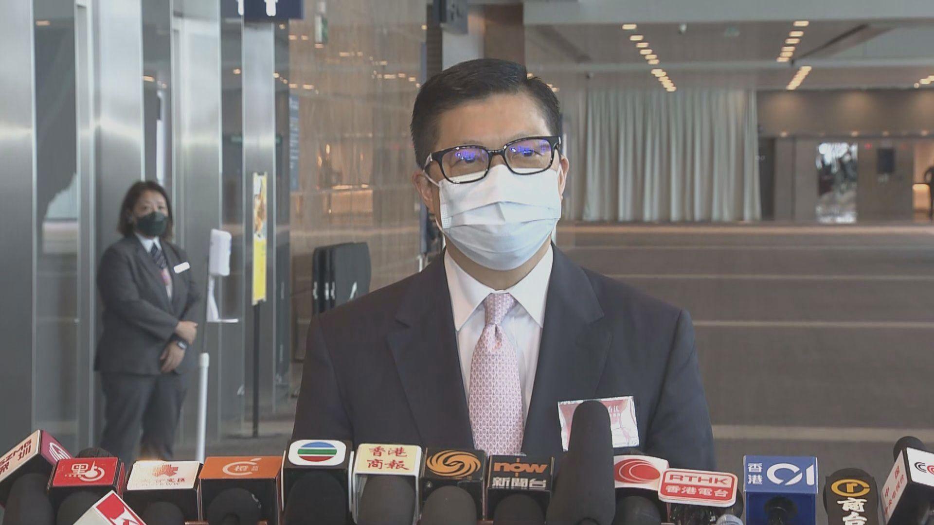 鄧炳強 : 任何違法組織不能藉解散抹走刑責