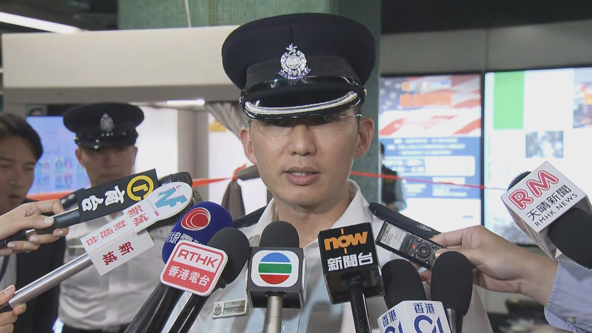 警方:警員經評估後開槍制服疑犯