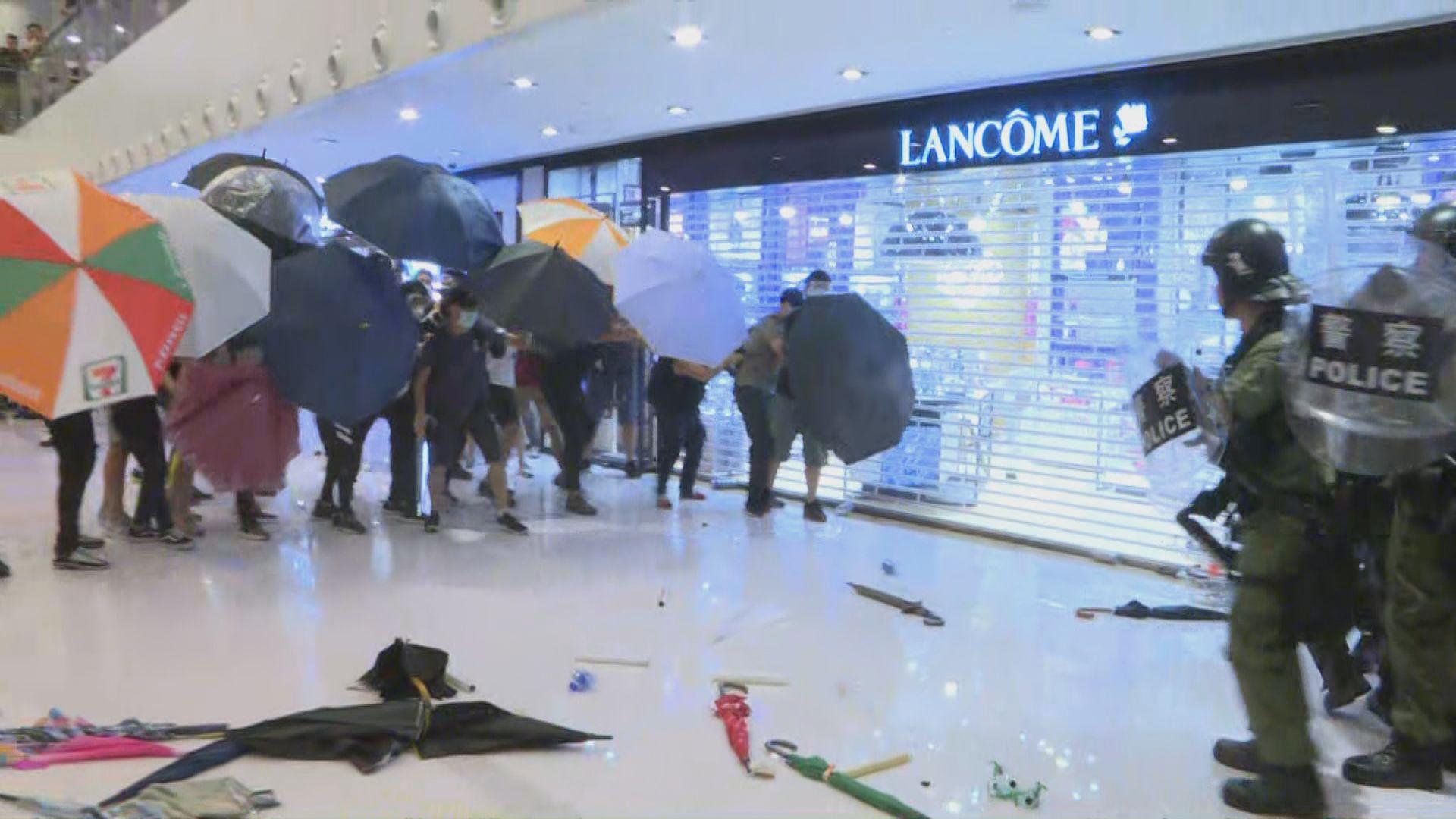 警拘23歲無業男涉新城市廣場襲警