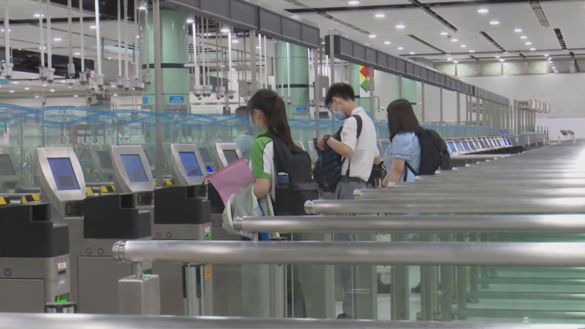 楊潤雄:仍未有確實時間安排跨境學生回港上課