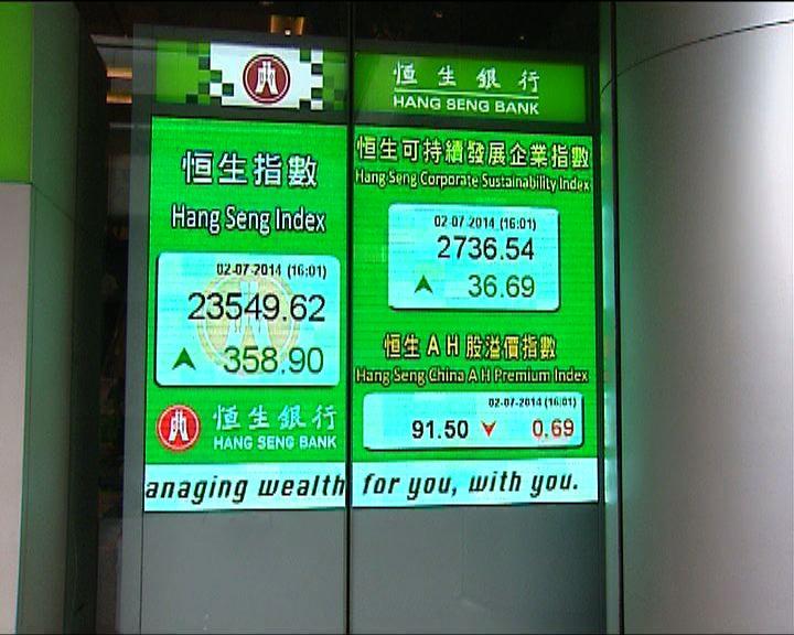 瑞銀:港股下半年上落市