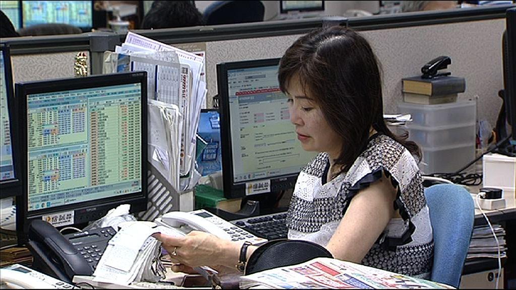 【正式染藍】舜宇升1% 碧桂園漲逾4%
