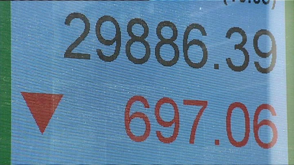 【憂經濟增長放緩】恒指短期或下試29100