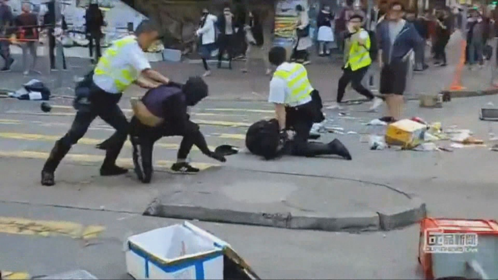消息:中槍男子右邊腎及肝受傷情況危殆