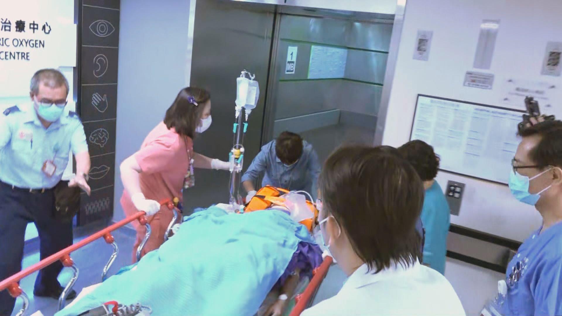 中槍傷者據報要切除右腎及部分肝臟