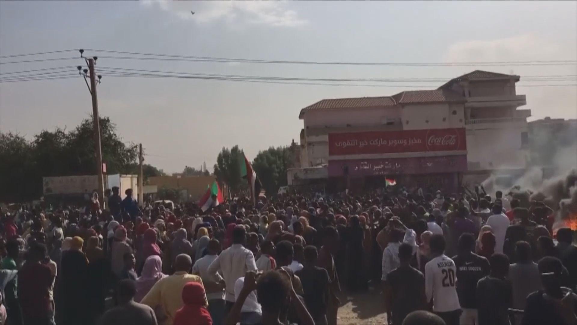 蘇丹傳出軍事政變 總理被扣押