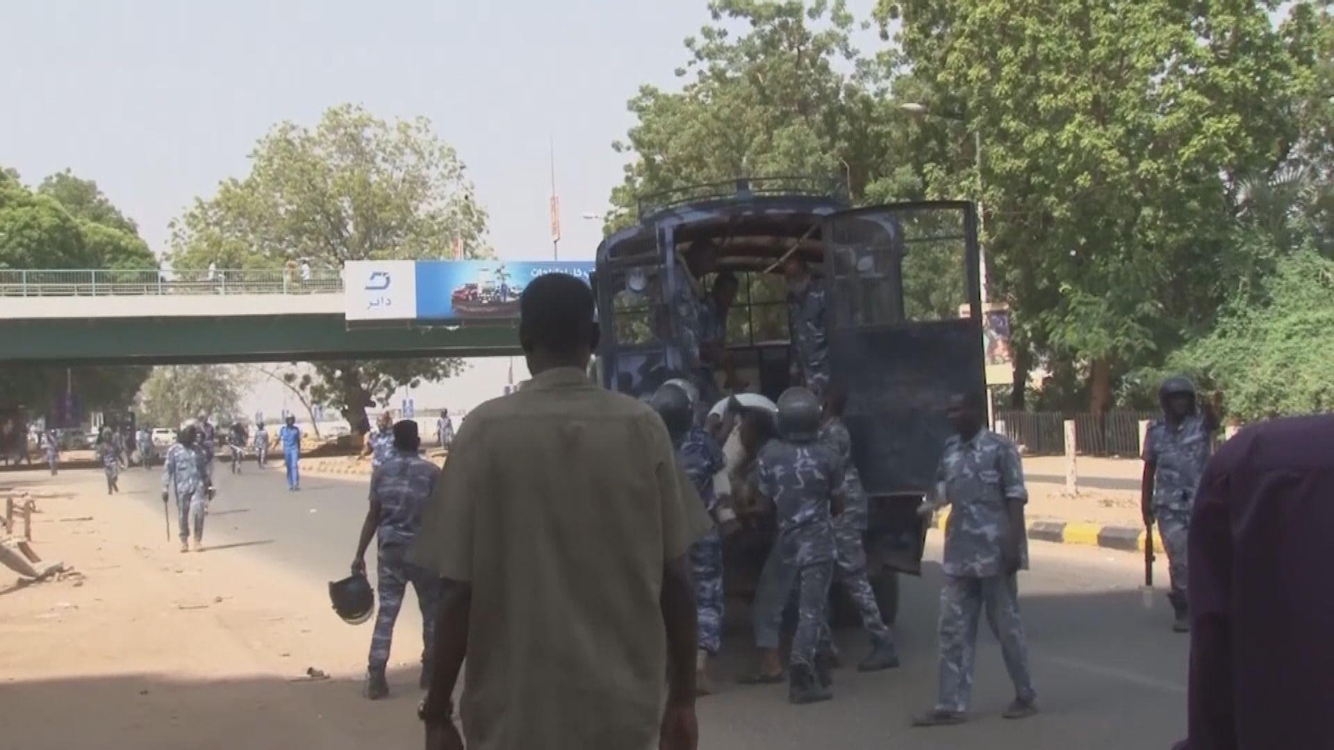蘇丹軍事政變觸發民眾抗議 據報多人受傷