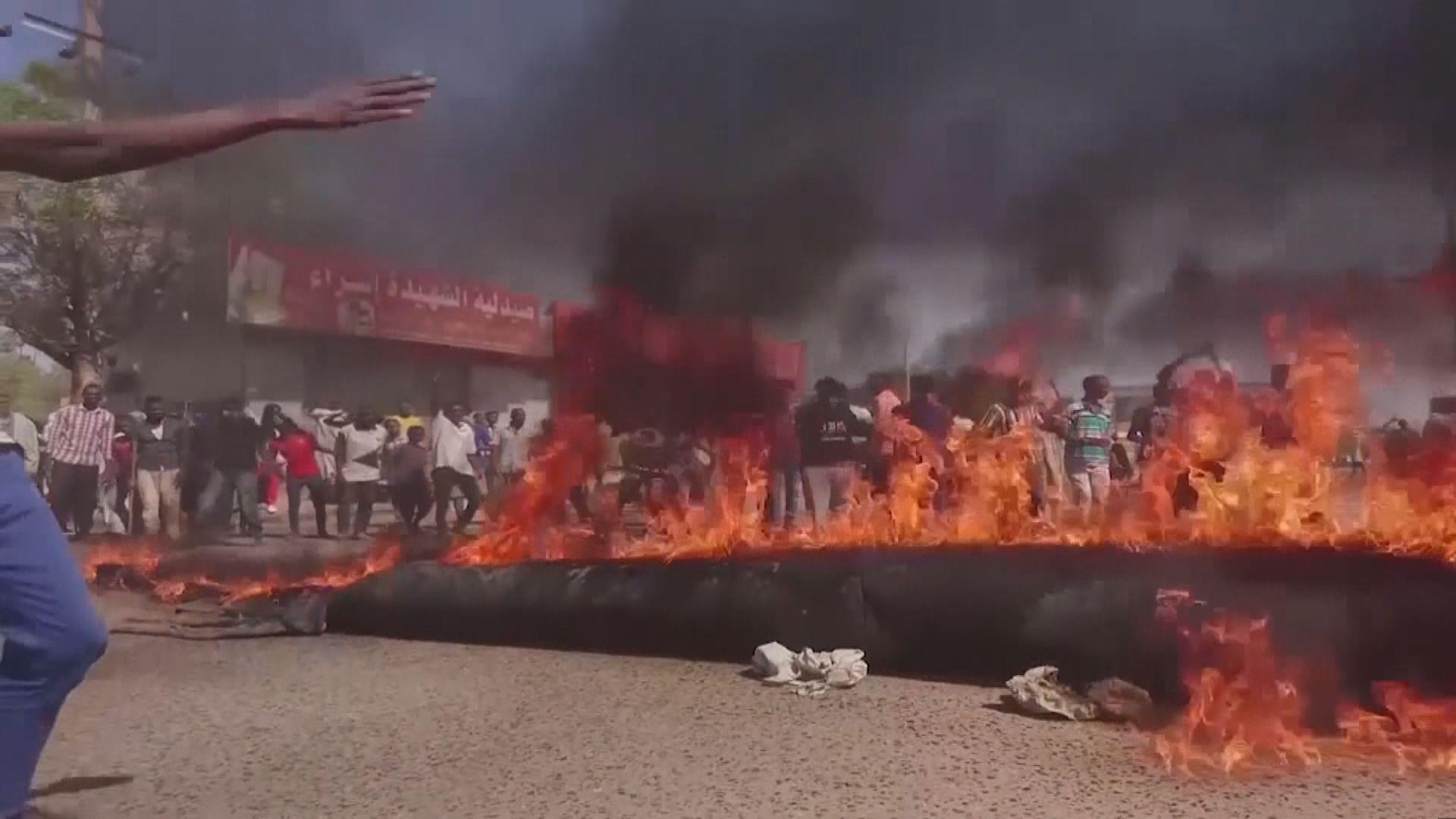 多國譴責蘇丹軍事政變