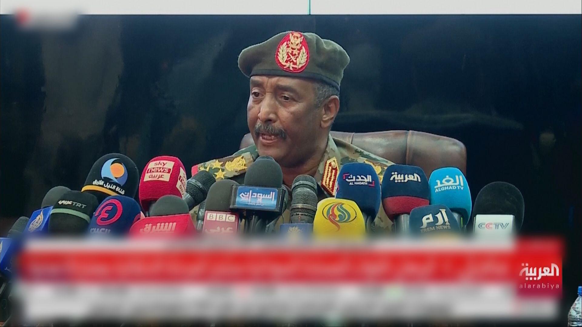 蘇丹軍方指解散過渡政府是為了避免內戰