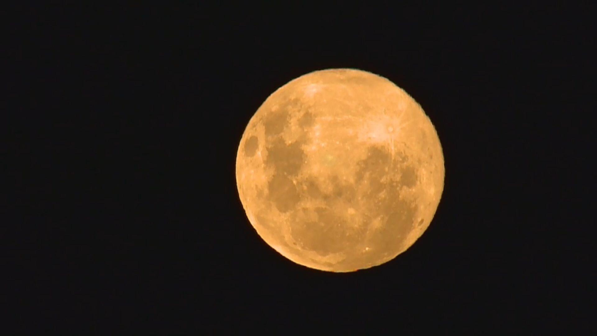 多國上空迎來今年首個超級月亮