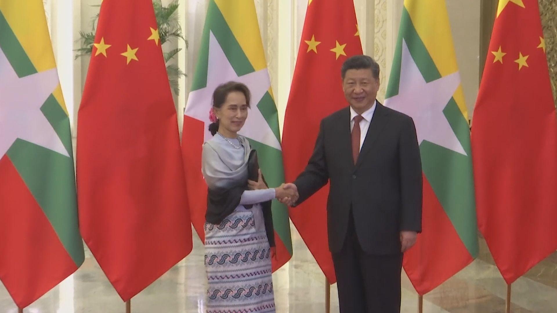 中國冀緬甸各方妥善處理分歧 歐美等國要求軍方釋放昂山素姬等人