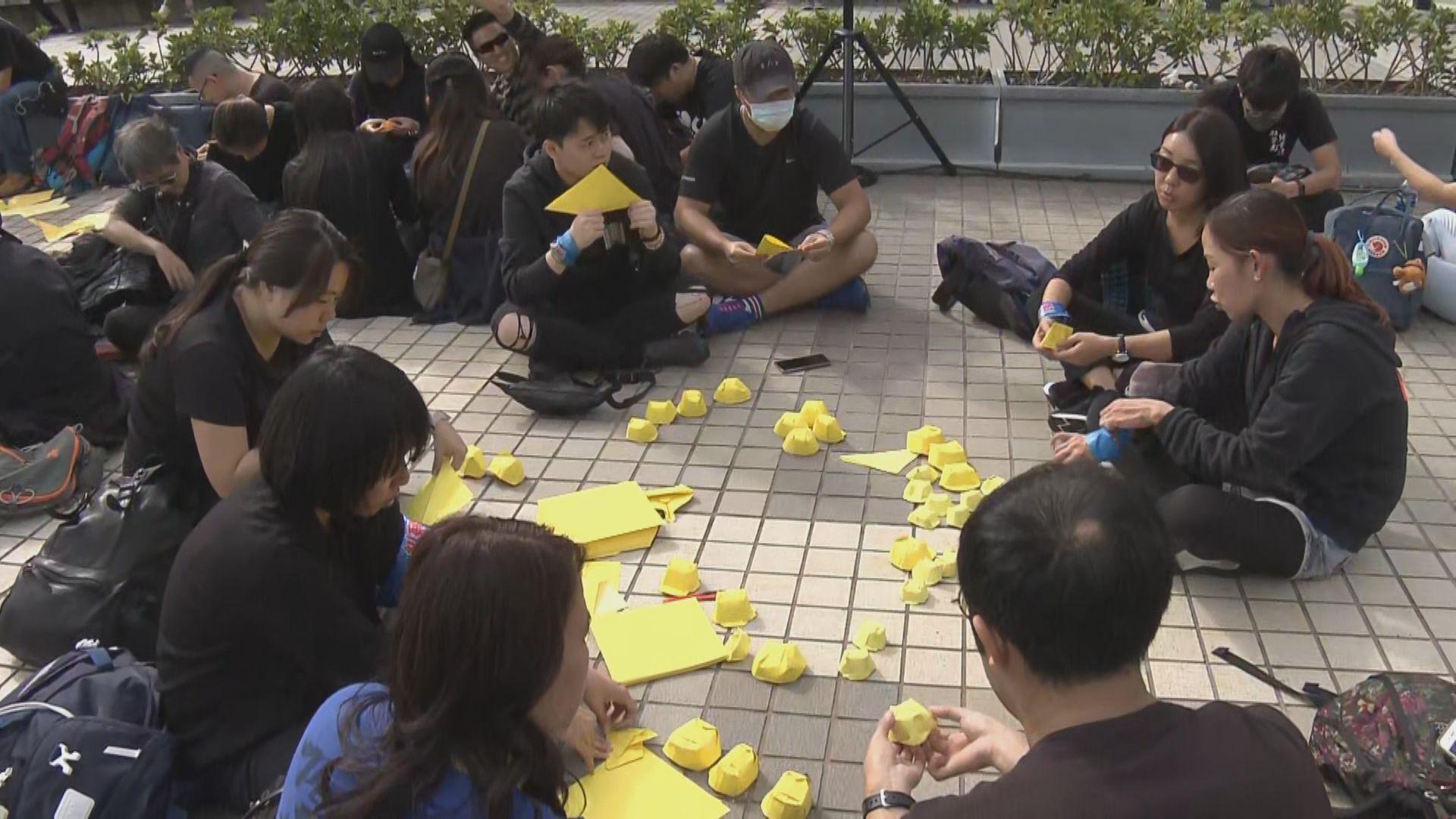 社福界一連三日罷工爭取民間訴求