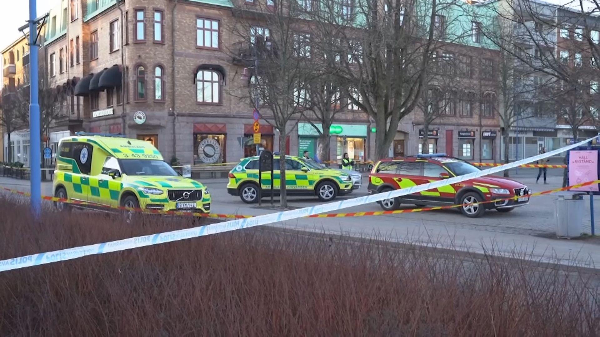 瑞典南部發生懷疑恐襲八人受傷