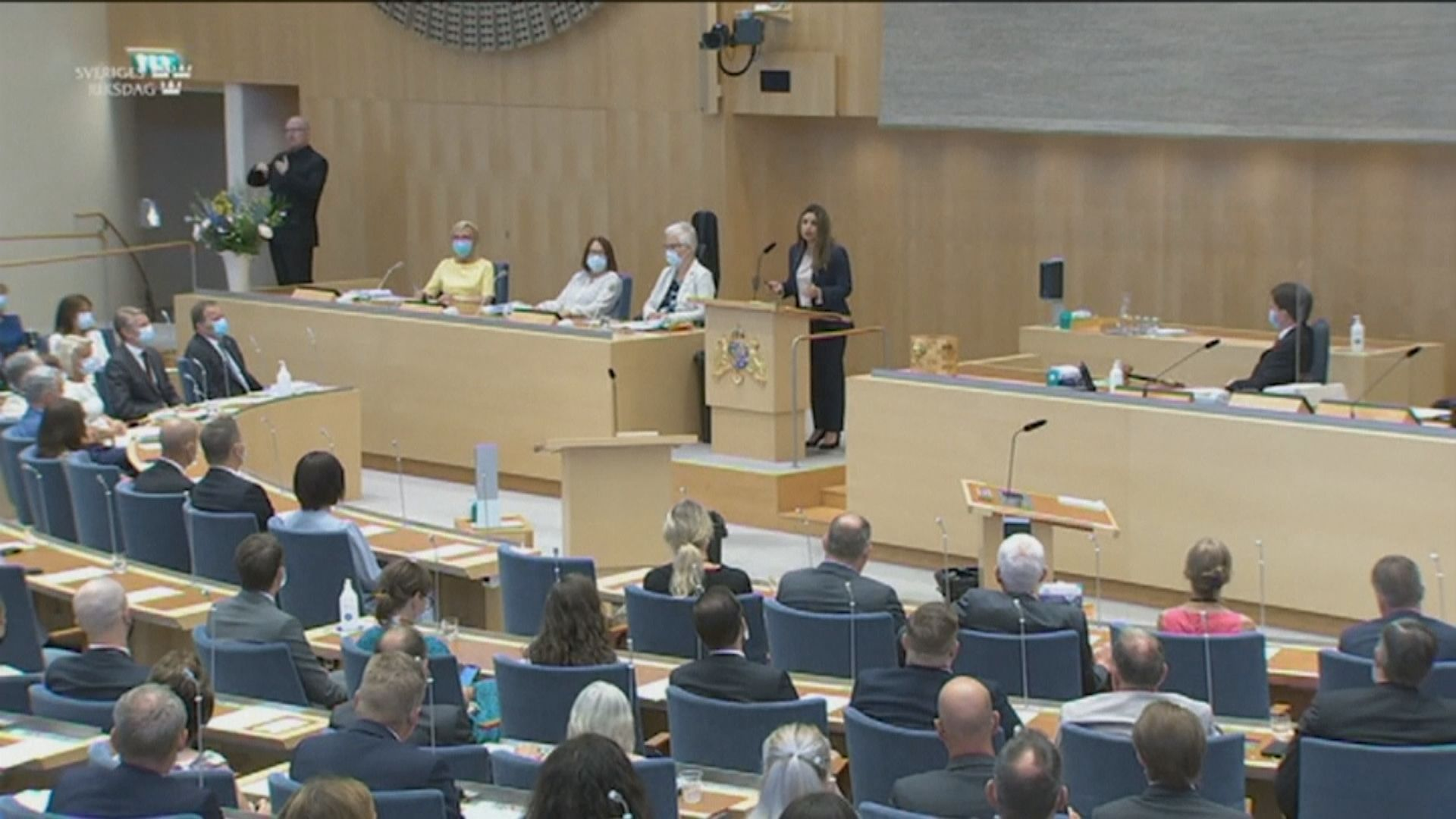瑞典國會通過首相不信任動議 將宣布辭職或提前大選