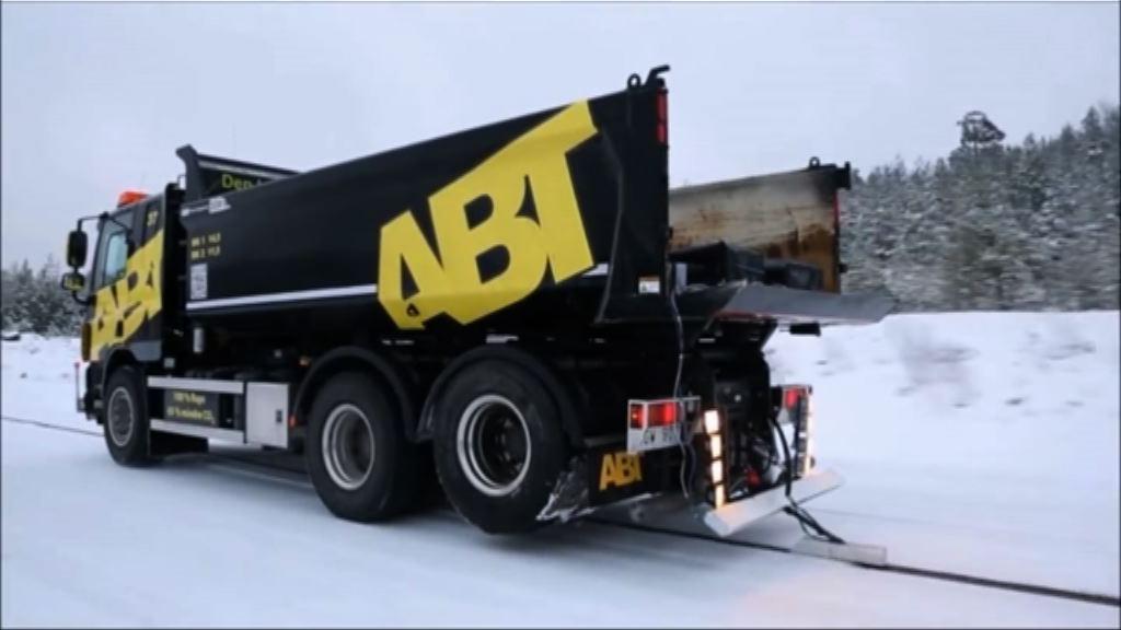 瑞典改裝公路為電動車充電