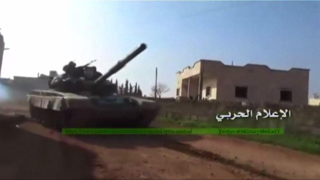 敘政府軍於阿勒頗擊退反對派