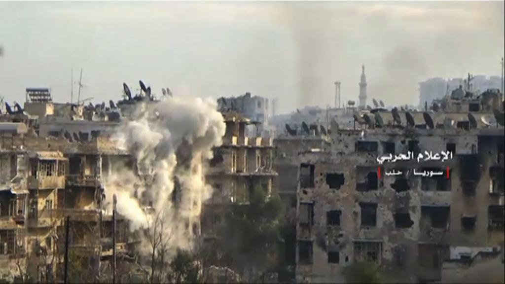 敘軍受頑強抵抗推進步伐放慢