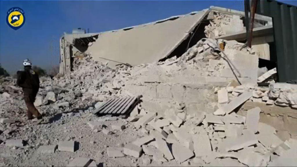 敘利亞兩婦科醫院遭空襲損毀嚴重