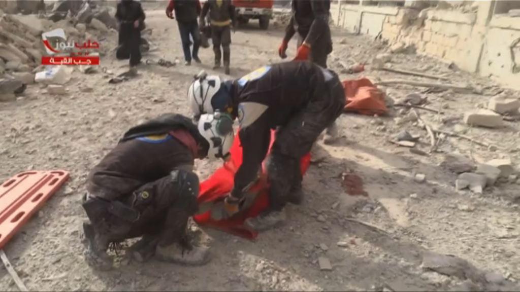 敘利亞阿勒頗東部再遇襲20人死