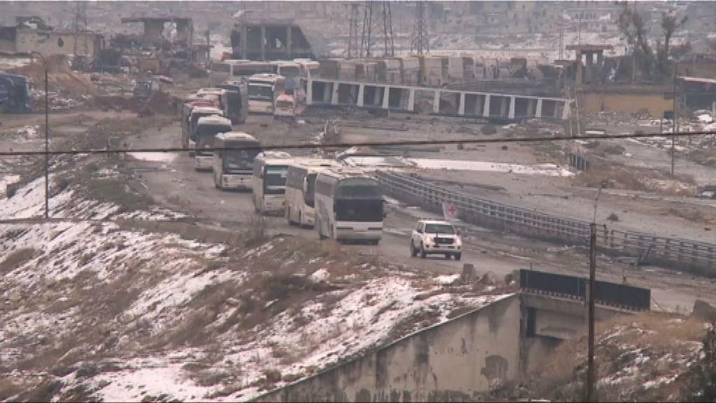 敘利亞宣布阿勒頗撤離行動結束