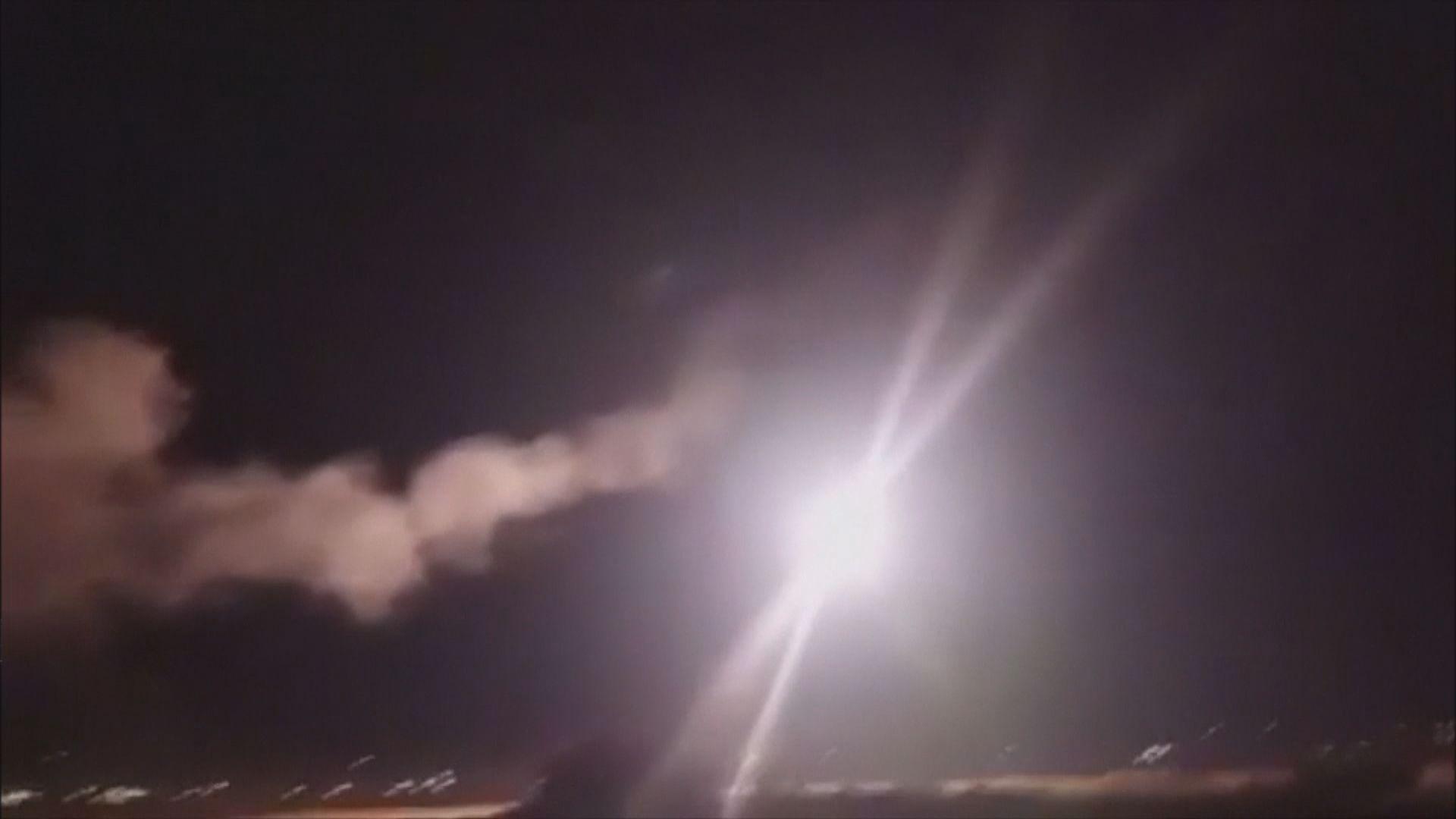 敘利亞稱大馬士革遭以軍戰機空襲
