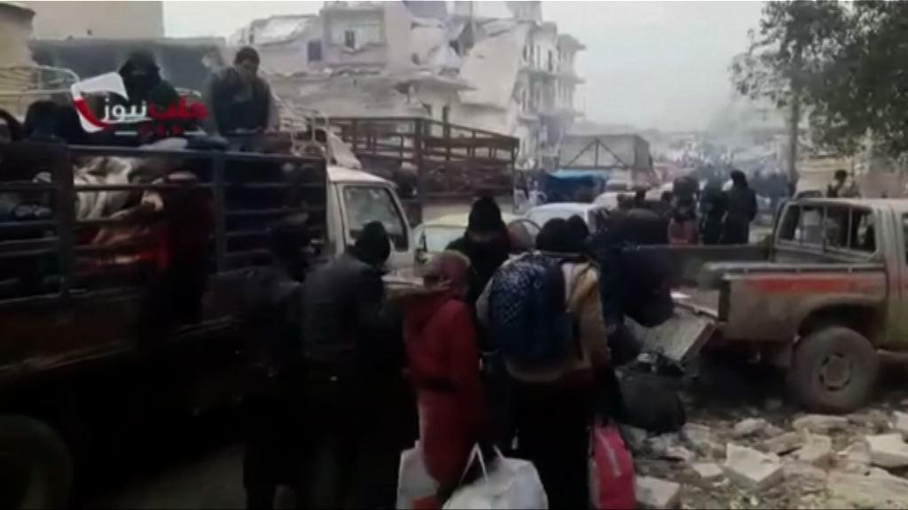 敘伊德利卜省撤退受阻或影響阿勒頗