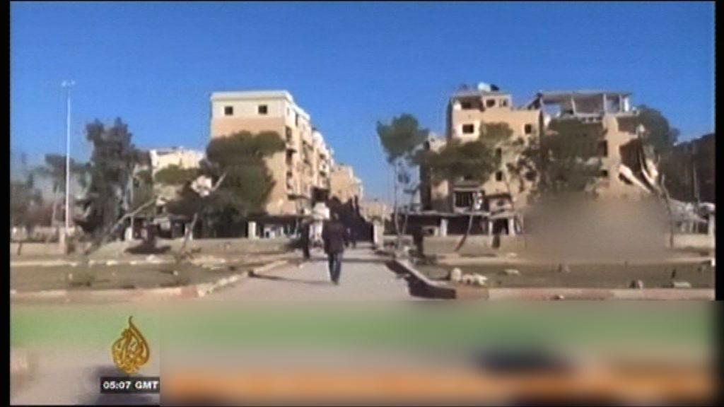 敘利亞政府軍收復阿勒頗陣地