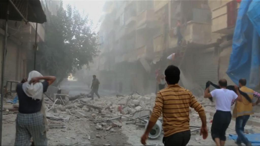 俄敘軍方暫停空襲阿勒頗