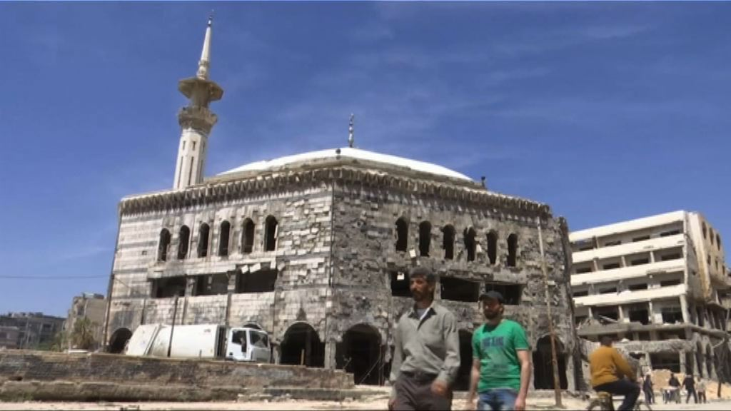 傳媒獲敘利亞政府安排到杜馬地區採訪