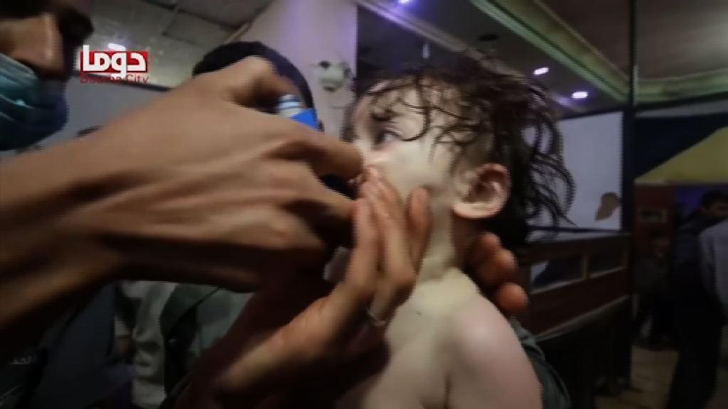 特朗普斥化武攻擊敘國要負沉重代價